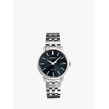 Buy Seiko SRPA25K1 Men's Automatic Date Bracelet Strap Watch, Silver/Grey Online at johnlewis.com