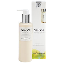 Buy Neom Organics London Energy Burst Body & Hand Lotion, 250ml Online at johnlewis.com