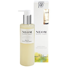 Buy Neom Organics London Energy Burst Body & Hand Wash, 250ml Online at johnlewis.com