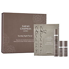 Buy Sarah Chapman Sunday Night Facial Online at johnlewis.com