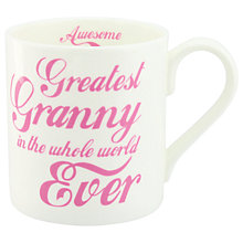 Buy McLaggan Smith 'Greatest Granny' Mug Online at johnlewis.com
