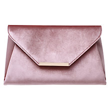 Buy Carvela Gogo Envelope Clutch Bag, Nude Online at johnlewis.com
