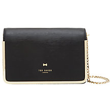 Buy Ted Baker Melodyy Leather Across Body Bag Online at johnlewis.com