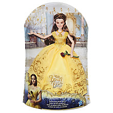 Buy Disney Beauty and the Beast Enchanting Gown Belle Doll Online at johnlewis.com