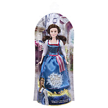 Buy Disney Beauty and the Beast Village Dress Belle Doll Online at johnlewis.com