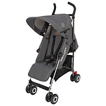 Buy Maclaren Quest Stroller, Denim Charcoal Online at johnlewis.com