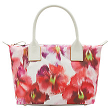 Buy Ted Baker Ceelo Expressive Pansy Small Tote Bag, Baby Pink Online at johnlewis.com