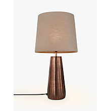 Buy Neema Med Copper Rib Online at johnlewis.com