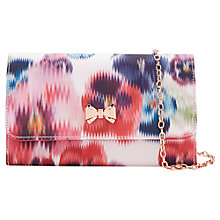 Buy Ted Baker Cellini Expressive Pansy Across Body Bag, Baby Pink Online at johnlewis.com