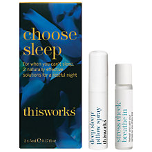 Buy This Works Limited Edition Choose Sleep Kit Online at johnlewis.com