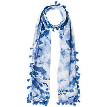 Buy Gerard Darel Flirt Scarf, Blue Online at johnlewis.com