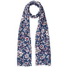 Buy Gerard Darel Fleur Scarf, Blue Online at johnlewis.com