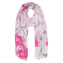Buy Oasis Neo Floral Print Scarf, Multi Online at johnlewis.com