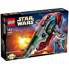 Buy LEGO Star Wars 75060 Slave I Bounty Hunter Ship Online at johnlewis.com