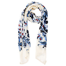 Buy Oasis Lily Pom Pom Scarf, Multi Online at johnlewis.com