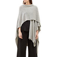 Buy Jigsaw Knitted Draped Cape Online at johnlewis.com