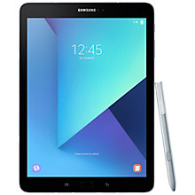 "Buy Samsung Galaxy Tab S3 Tablet with S Pen, Android, 32GB, 4GB RAM, Wi-Fi, 9.7"", Silver Online at johnlewis.com"