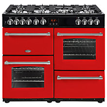 Buy Belling Farmhouse 100DFT Dual Fuel Range Cooker Online at johnlewis.com
