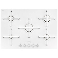 Buy Smeg PV175C Linea Aesthetic 72cm Integrated Gas Hob Online at johnlewis.com