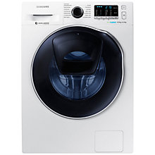Buy Samsung WD80K5410OW Freestanding Washer Dryer, 8kg Wash/6kg Dry Load, A Energy Rating, 1400rpm Spin, White Online at johnlewis.com