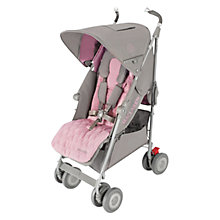 Buy Maclaren Techno XLR Stroller, Dove/Orchid Online at johnlewis.com
