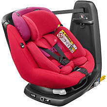 Buy Maxi-Cosi AxissFix Plus Group 0+ and 1 Car Seat, Red Orchid Online at johnlewis.com