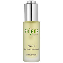Buy Zelens Power D High Potency Vitamin D Treatment Drops, 30ml Online at johnlewis.com