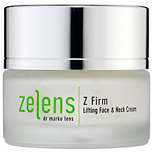 Buy Zelens Z Firm Lifting Face & Neck Cream, 50ml Online at johnlewis.com