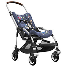 Buy Bugaboo Bee5  Complete Pushchair, Aluminium with Cognac Handles and Botanic Fabric Online at johnlewis.com