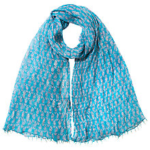 Buy East Yasmin Booti Handblock Scarf Online at johnlewis.com