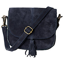 Buy Fat Face Mini Suede Cross Body Bag Online at johnlewis.com