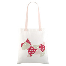 Buy Radley Deco Dog Cotton Tote Bag, Natural Online at johnlewis.com
