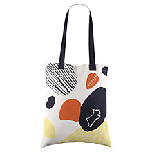 Buy Radley Dash Dog Cotton Tote Bag, Natural Online at johnlewis.com