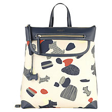 Buy Radley Dash Dog Backpack, Ivory Online at johnlewis.com