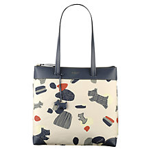 Buy Radley Dash Dog Shoulder Bag, Ivory Online at johnlewis.com