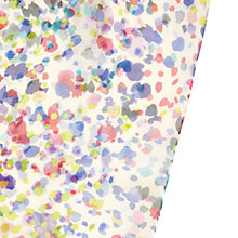 Buy Hobbs Nova Silk Chiffon Scarf, Ivory / Multi Online at johnlewis.com