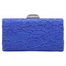 Buy Carvela Gage Match Clutch Bag, Blue Online at johnlewis.com
