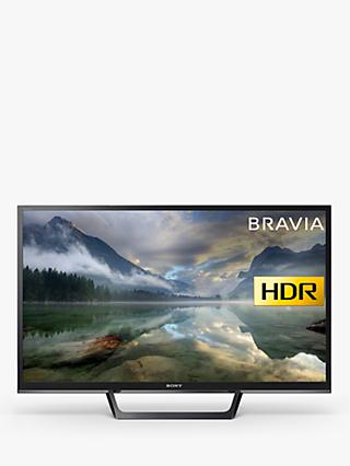 "Sony Bravia KDL32WE613 LED HDR HD Ready 720p Smart TV, 32"" with Freeview Play & Cable Management, Black"