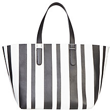 Buy Gerard Darel Leather Le Simple Two Bag Shopper Bag, Black Online at johnlewis.com