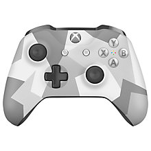 Buy Microsft Xbox One S Wireless Controller, Winter Forces Online at johnlewis.com