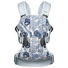 Buy BabyBjörn One Baby Carrier, Leaf Limited Edition Online at johnlewis.com