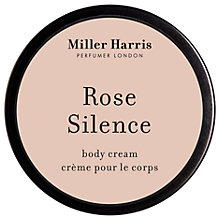 Buy Miller Harris Rose Silence Body Cream, 175ml Online at johnlewis.com
