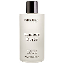 Buy Miller Harris Lumière Dorée Body Wash, 250ml Online at johnlewis.com