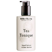 Buy Miller Harris Tea Tonique Hand Lotion, 250ml Online at johnlewis.com
