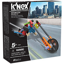 Buy K'Nex 17007 Motorcycle Building Set Online at johnlewis.com