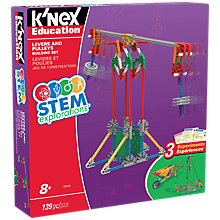 Buy K'Nex 79319 STEM Explorations Levers and Pulleys Building Set Online at johnlewis.com