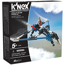 Buy K'Nex 17008 Stealth Plane Building Set Online at johnlewis.com