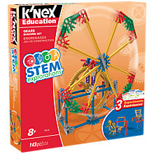 Buy K'Nex 79318 STEM Explorations Gears Building Set Online at johnlewis.com