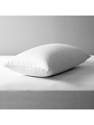 John Lewis & Partners Natural Collection Hungarian Goose Down Standard Pillow, Firm