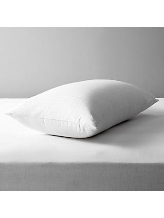 John Lewis & Partners Natural Collection Siberian Goose Down Standard Pillow, Medium